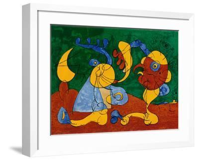 Adlige In Der Fallgrube-Joan Mir?-Framed Art Print