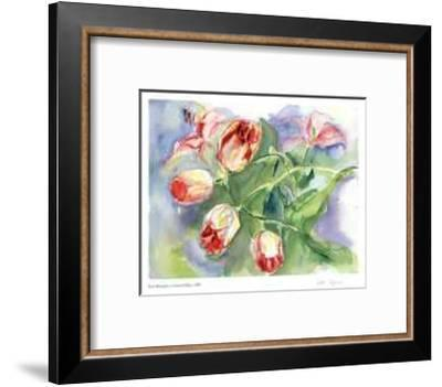 Gathered Tulips-Lynn Donoghue-Framed Collectable Print