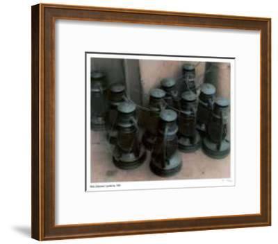 Lanterns-Rick Zolkower-Framed Limited Edition