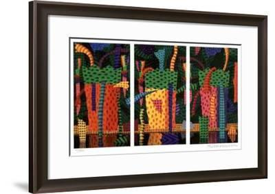 A Day in the Rainforest-Ian Tremewen-Framed Collectable Print
