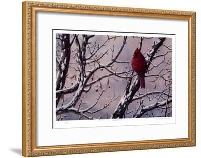 Winter Arrival-J. Vanderbrink-Framed Collectable Print