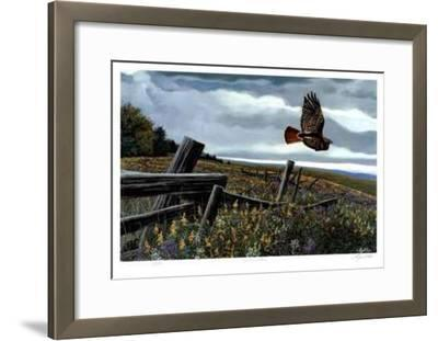 Threatening Skies-Cyril Cox-Framed Limited Edition