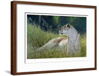 Amboseli Evening-R. V. Stanley-Framed Limited Edition