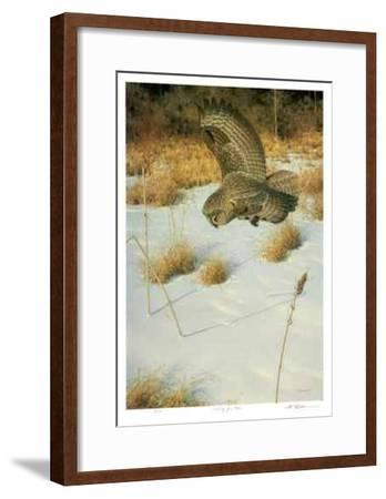 Hunting for Voles-Claudio D'Angelo-Framed Limited Edition