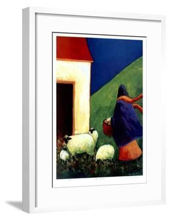 The Caretaker-Carol Ann Shelton-Framed Collectable Print