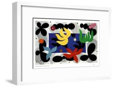 Blues from the Night-Daniel Solomon-Framed Limited Edition