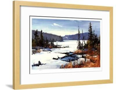 Loon Lake in April-Murray McCheyne Stewart-Framed Limited Edition