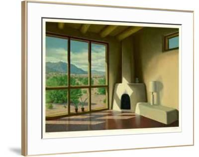 Desert View-L. Patrick-Framed Collectable Print