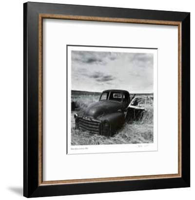 Untitled (GMC truck)-Morry Katz-Framed Collectable Print