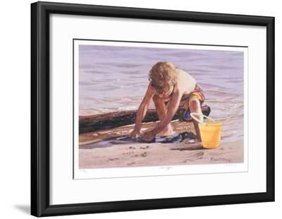 Sand Digger--Framed Collectable Print