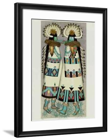 Shalako Dancer-Alice Asmar-Framed Collectable Print