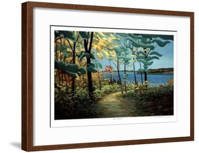 Upon an Opening-Norman R. Brown-Framed Collectable Print