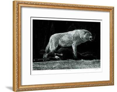 Lone Sentry-Robert Pow-Framed Collectable Print