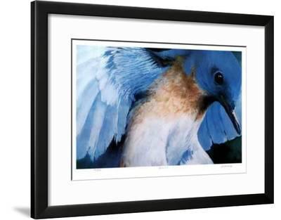 Blue Bird-Carl Arlen-Framed Collectable Print