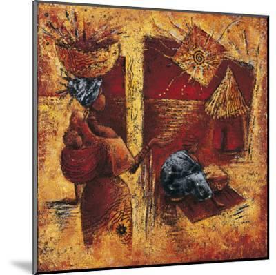 Touche la Lumiere-Isabelle Vital-Mounted Art Print