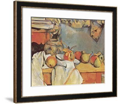 Fruit-Paul C?zanne-Framed Art Print
