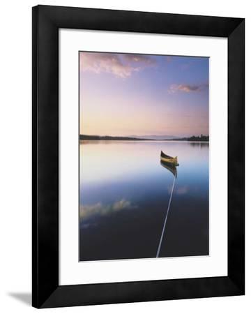 Caspian Lake, Greensboro, Vermont-Sara Gray-Framed Art Print
