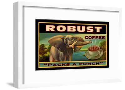 Robust Coffee--Framed Giclee Print
