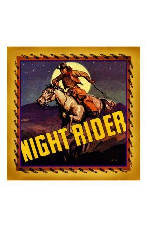 Night Rider--Framed Giclee Print