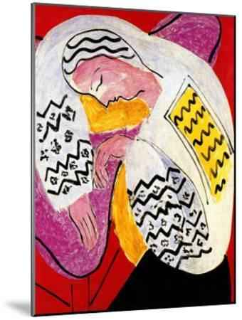 The Dream-Henri Matisse-Mounted Giclee Print