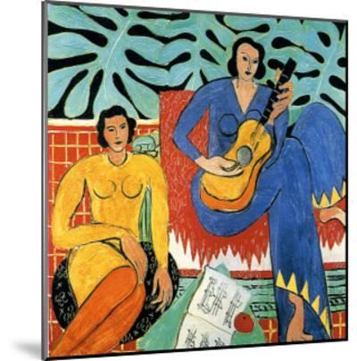 Music-Henri Matisse-Mounted Giclee Print