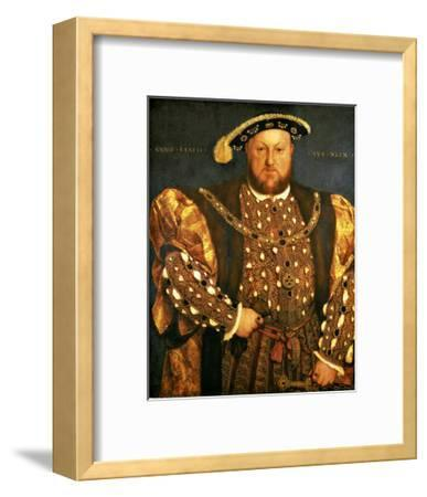 Henry VIII-Hans Holbein the Younger-Framed Giclee Print