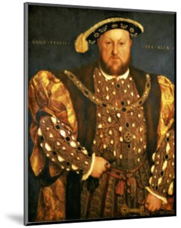 Henry VIII-Hans Holbein the Younger-Mounted Giclee Print