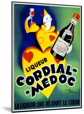 Liqueur Cordial Medoc--Mounted Giclee Print