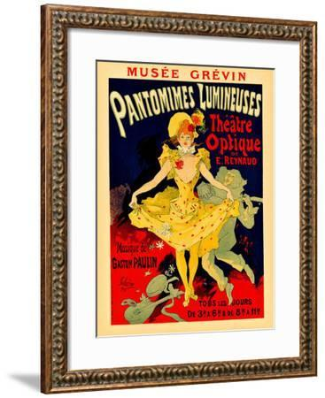 Paris Theatre Optique--Framed Giclee Print