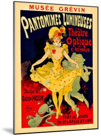 Paris Theatre Optique--Mounted Giclee Print