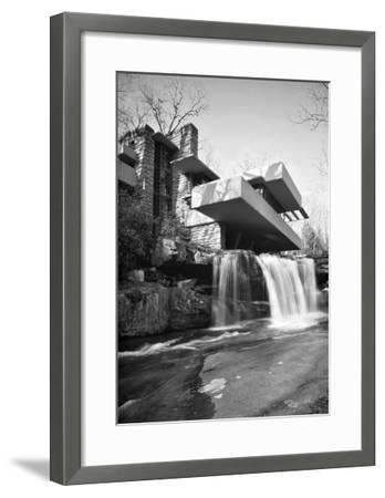 Frank Lloyd Wright, Falling Water--Framed Art Print