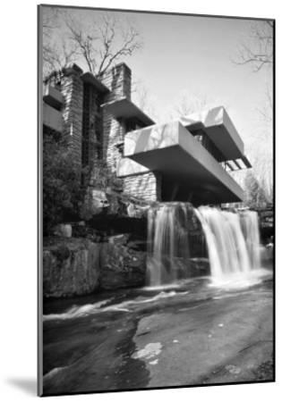 Frank Lloyd Wright, Falling Water--Mounted Art Print