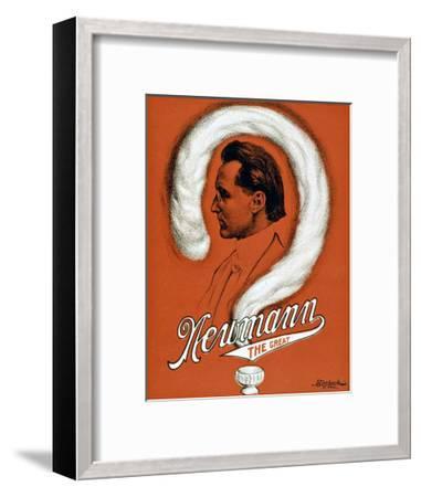 Newmann the Great Magician--Framed Giclee Print