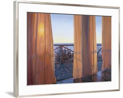 Evening Interplay, 2000-Alice Dalton Brown-Framed Art Print