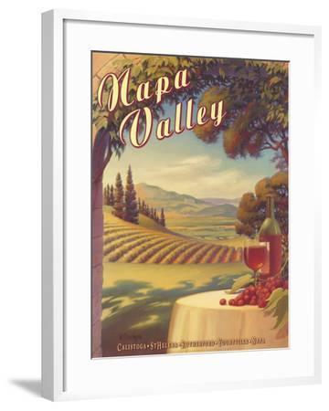 Napa Valley-Kerne Erickson-Framed Art Print