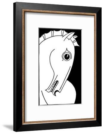 Chevaux d' Homme I-Strammel-Framed Art Print