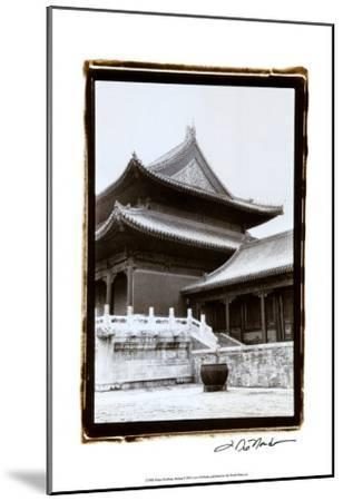 Palace Rooftops, Beijing-Laura Denardo-Mounted Art Print