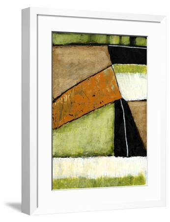 Acid Green Asphalt I-Jennifer Goldberger-Framed Limited Edition