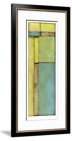 Stained Glass Window VI-Jennifer Goldberger-Framed Limited Edition