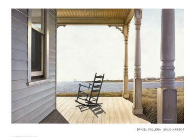 Snug Harbor-Daniel Pollera-Art Print
