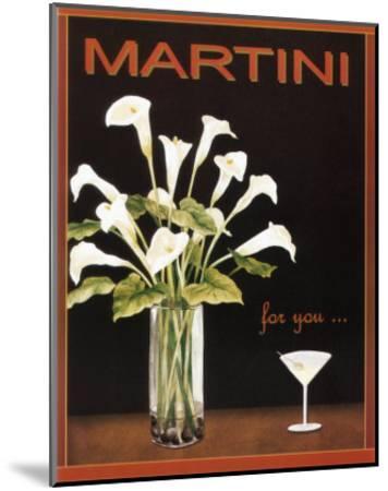 Martini-Kathleen Richards-babcock-Mounted Art Print