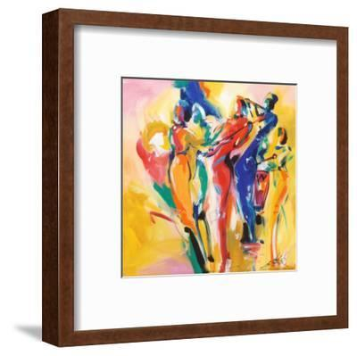 Jazz Explosion I-Alfred Gockel-Framed Art Print