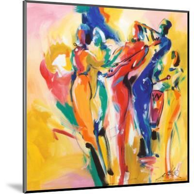 Jazz Explosion I-Alfred Gockel-Mounted Art Print