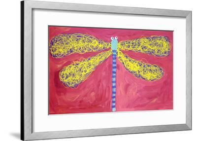 Dragonfly-Stephanie Bauer-Framed Art Print