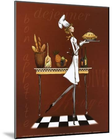 Sassy Chef I-Mara Kinsley-Mounted Art Print