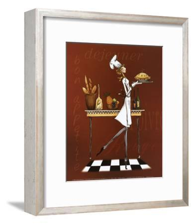 Sassy Chef I-Mara Kinsley-Framed Art Print