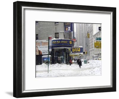 The Late Show and CBS Store-Igor Maloratsky-Framed Art Print