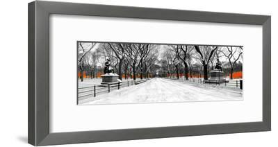 The Gates along Poet's Walk, Central Park-Igor Maloratsky-Framed Art Print