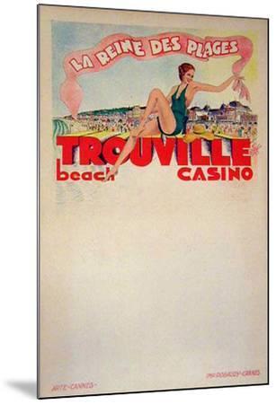Trouville La Reine Des Plages (c.1933)--Mounted Collectable Print