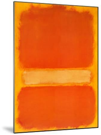 Untitled, c.1956-Mark Rothko-Mounted Art Print